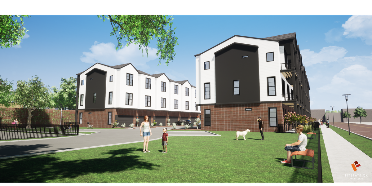 Townhomes to be built in Downtown Tyler