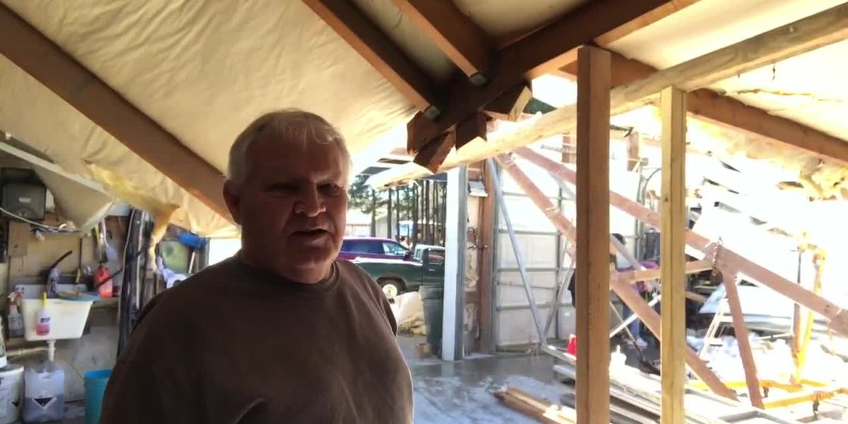 Roof, awnings collapse at several Longview businesses