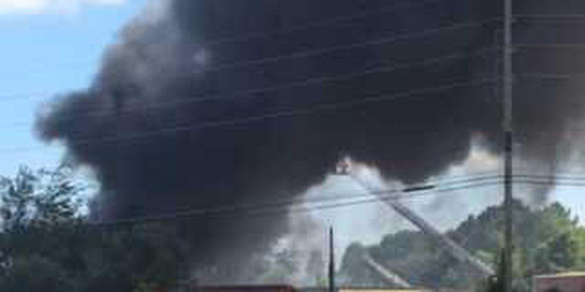 Longview emergency crews on scene of large fire on West Loop 281