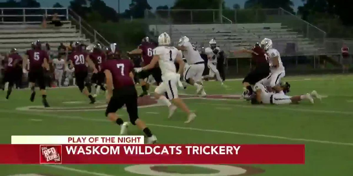 2020 Week 4: Play of the Night, Waskom Wildcats