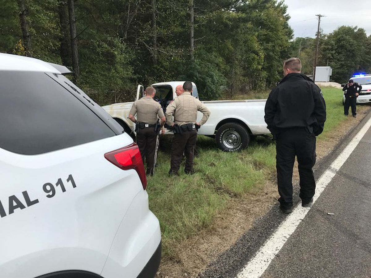 1 in custody following East Texas pursuit