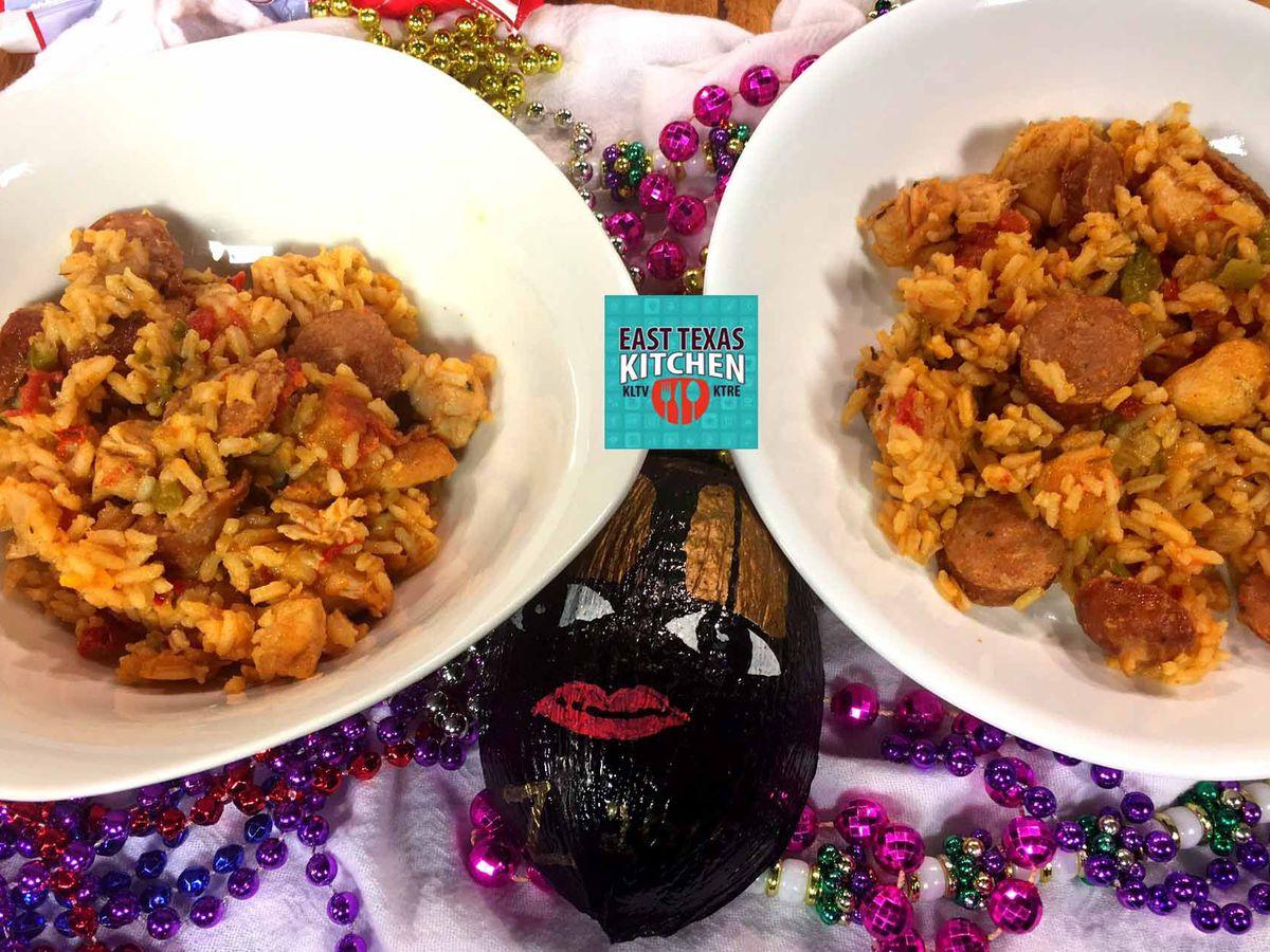 Chicken and sausage jambalaya by Mama Steph