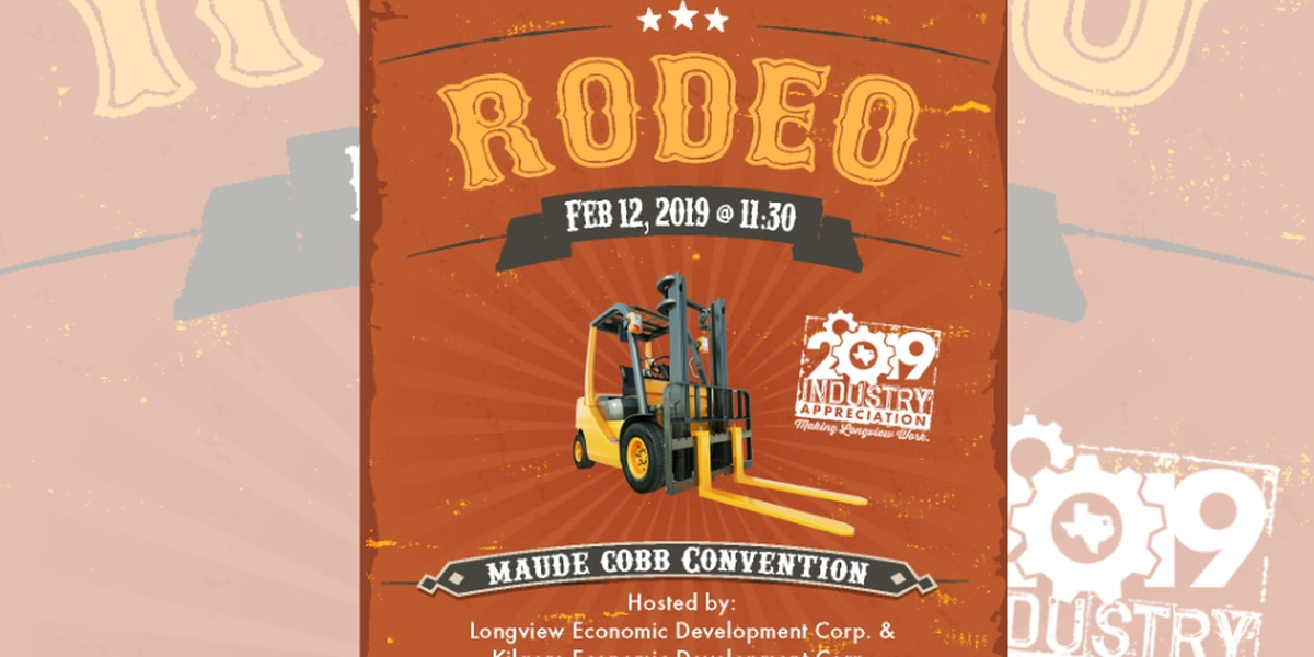 WATCH: Forklift drivers show off their skills at Gregg County Forklift Rodeo