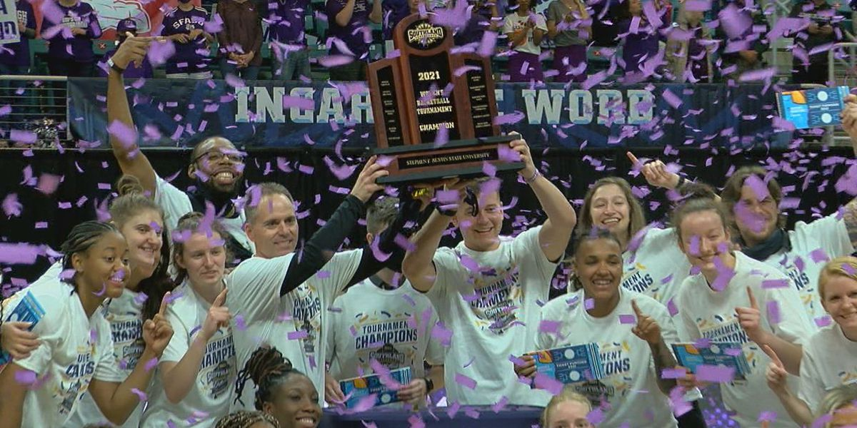 Katy Curse Axed: SFA Ladyjacks win first SLC title in 15 years