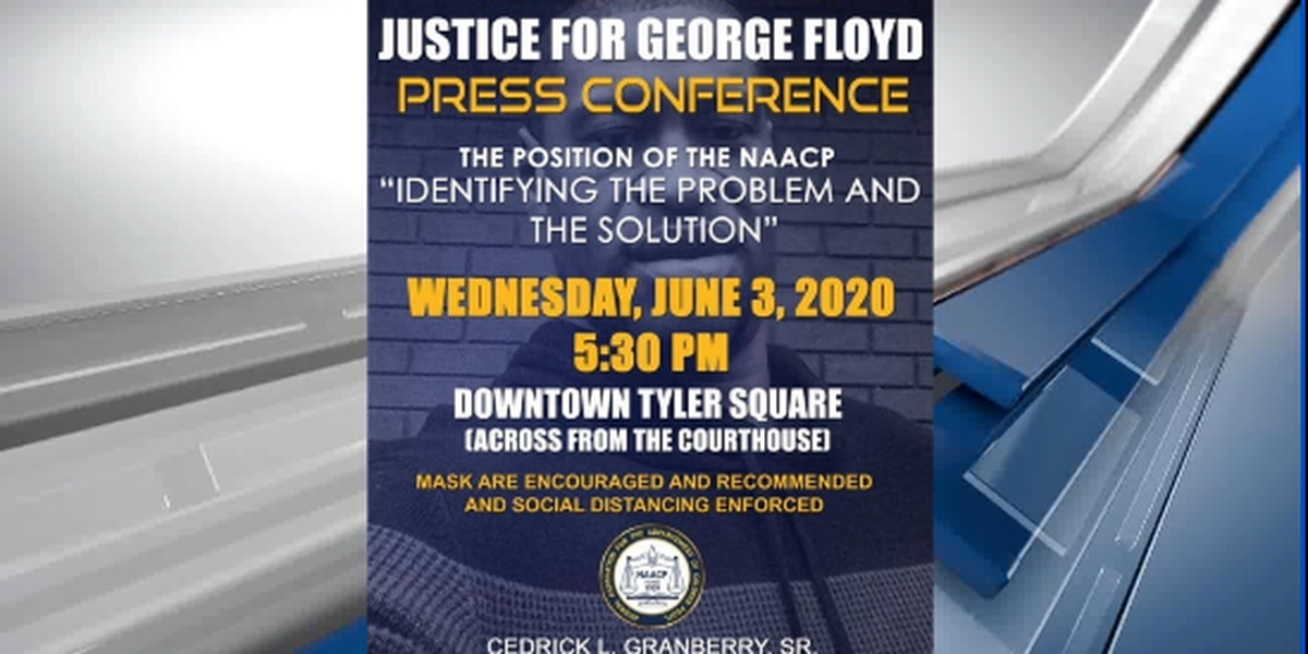 Tyler NAACP to hold press conference Wednesday