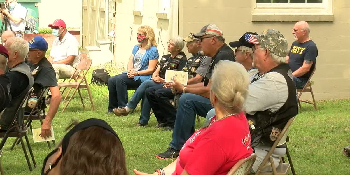 WEBXTRA: Veterans honored at Tyler's Camp V to commemorate Purple Heart Day