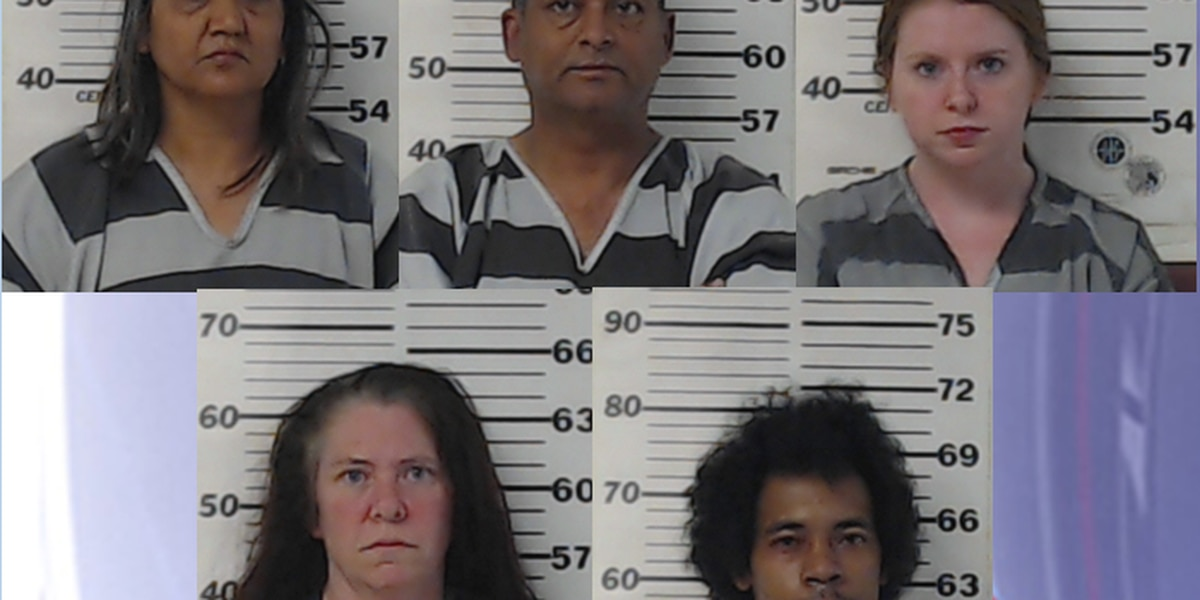 5 arrested in Henderson County game room raid