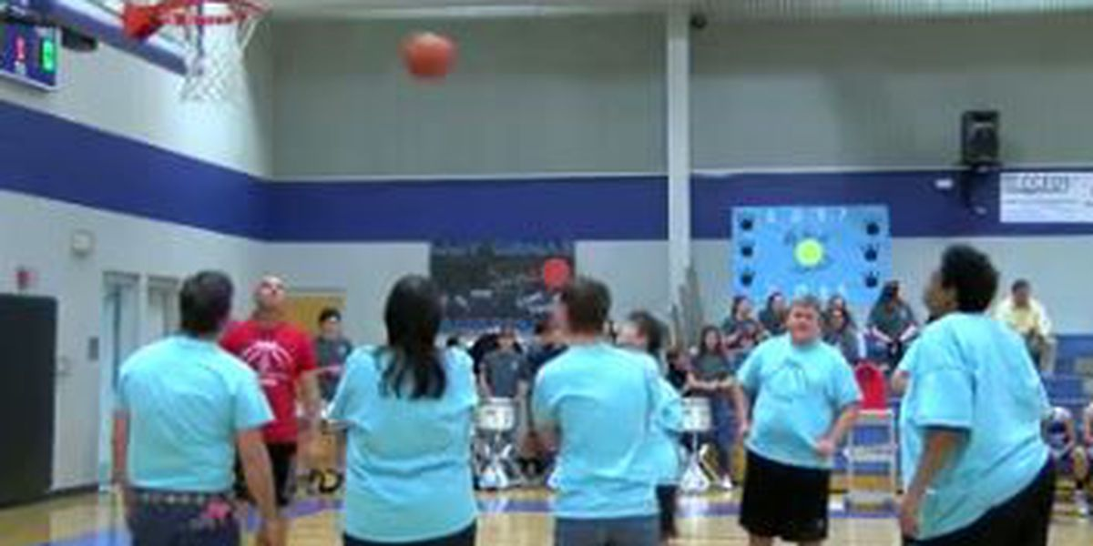 Special Olympics Texas Tyler Rose Delegation hosts basketball competition