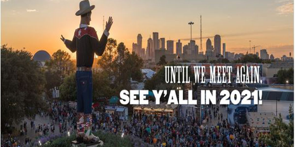 2020 State Fair of Texas has been canceled