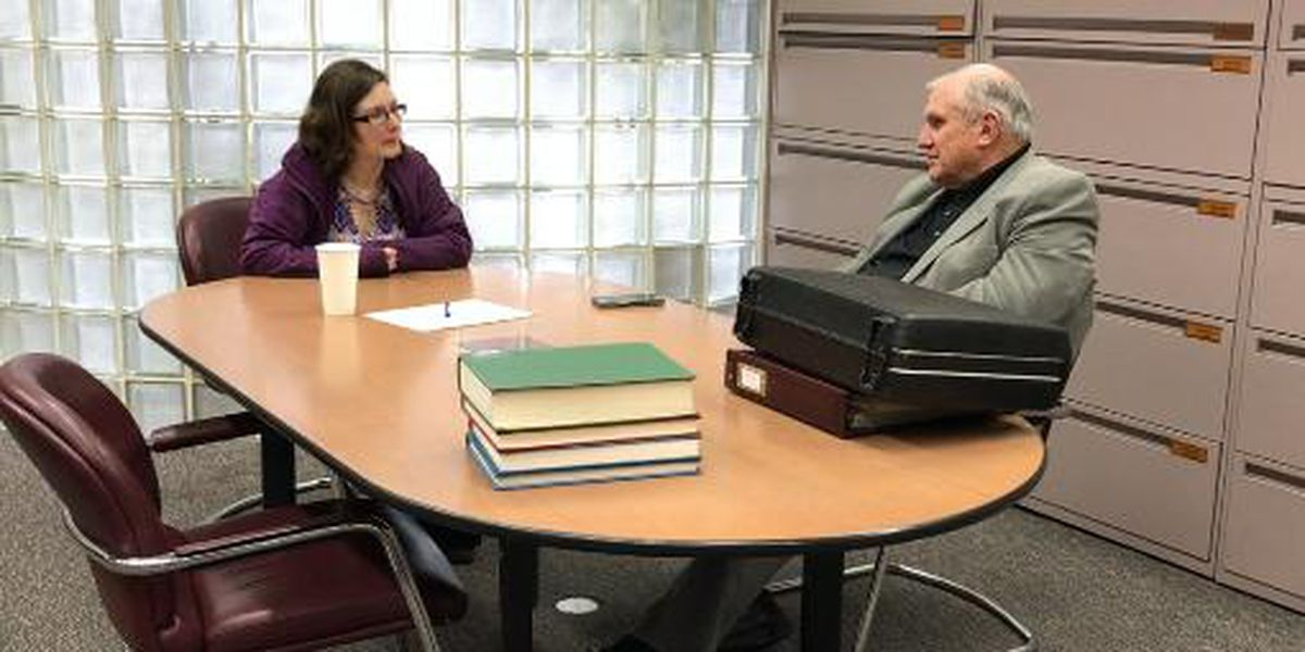 Longview Library recording history from residents for sesquicentennial celebration