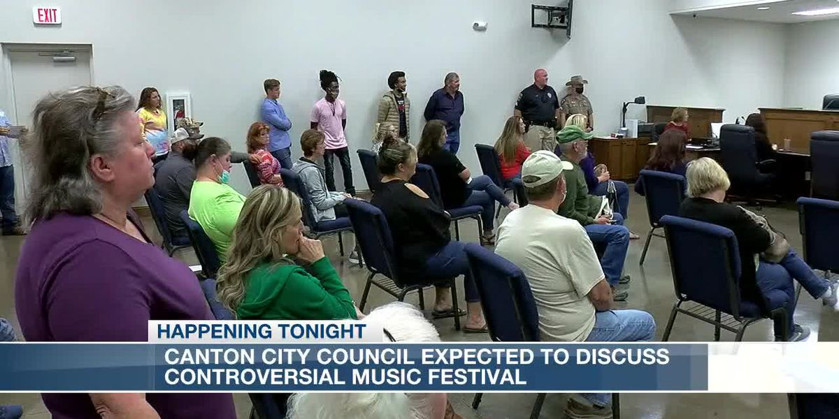Canton City Council expected to make decision on controversial music festival