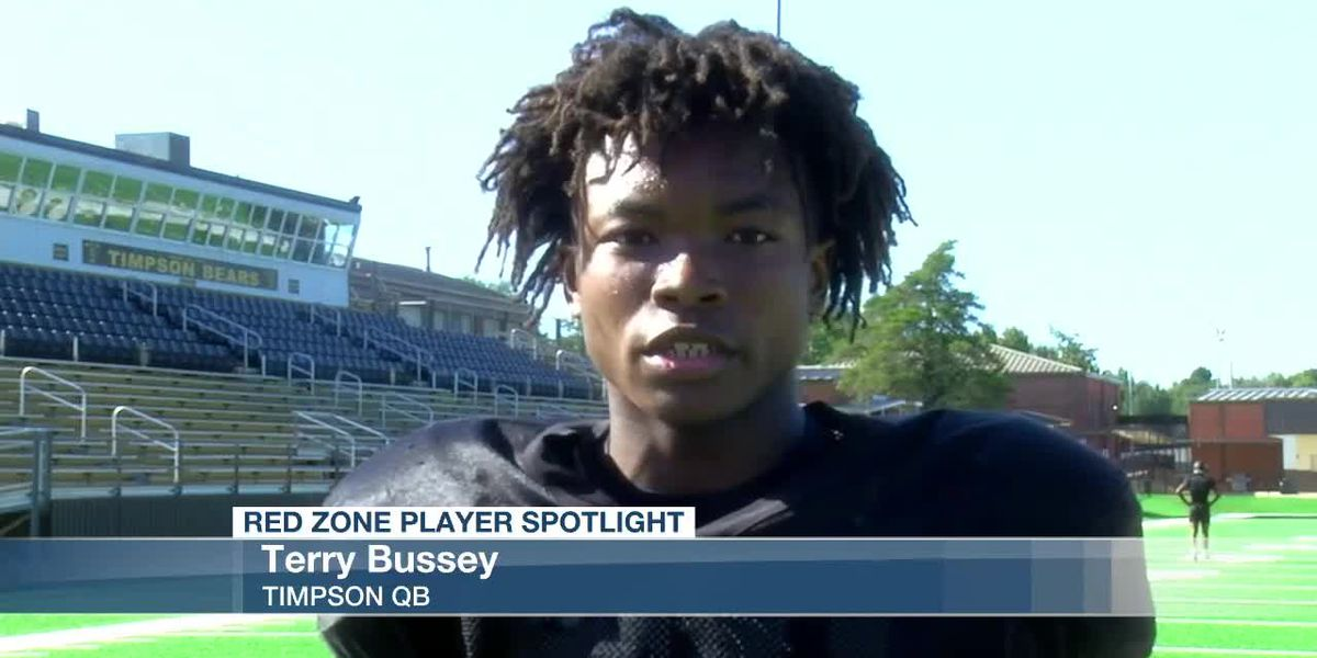 Timpson's Terry Bussey takes home this week's Red Zone Player Spotlight
