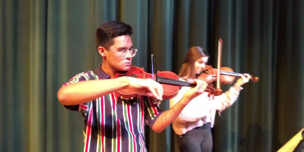 Webxtra: Longview High School violinists will perform at Carnegie Hall