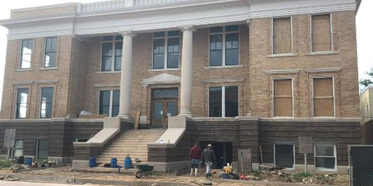 Marion County Courthouse renovation ahead of schedule