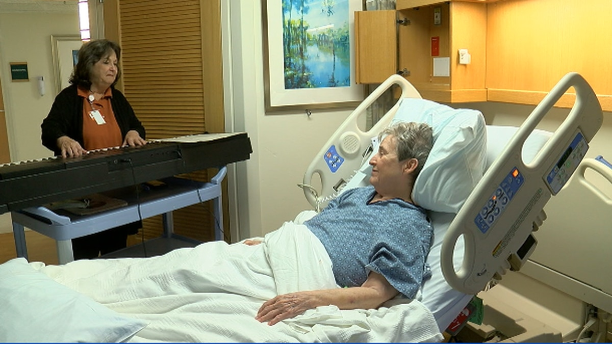 East Texan lifts the spirits of patients through music after cancer diagnosis