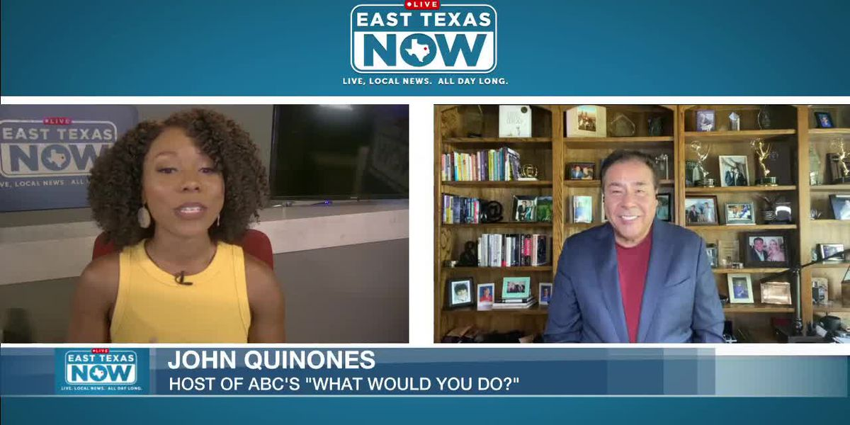WATCH: ABC's John Quinones discusses 'What Would You Do' episode about sexual orientation in sports, more topics