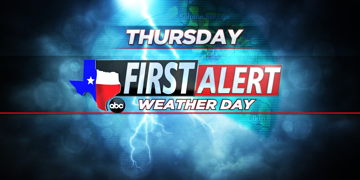 First Alert Weather Day for Thursday Afternoon/Evening