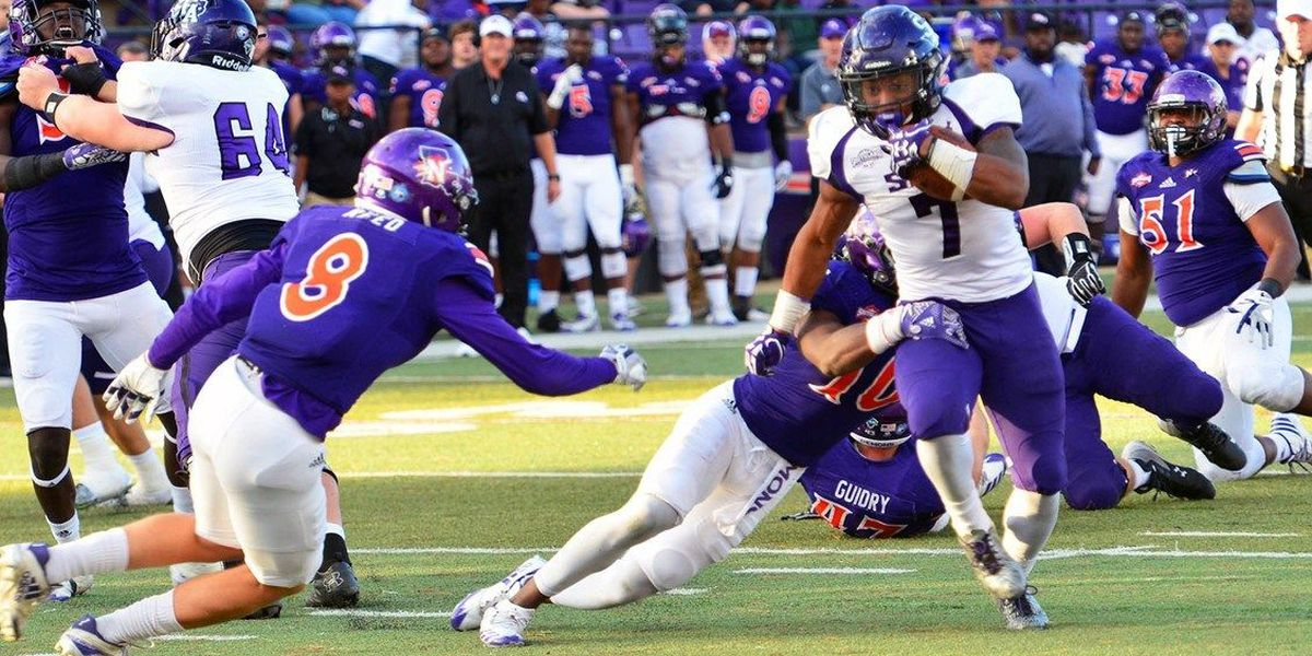 Northwestern takes back Chief Caddo with 38-21 win over SFA