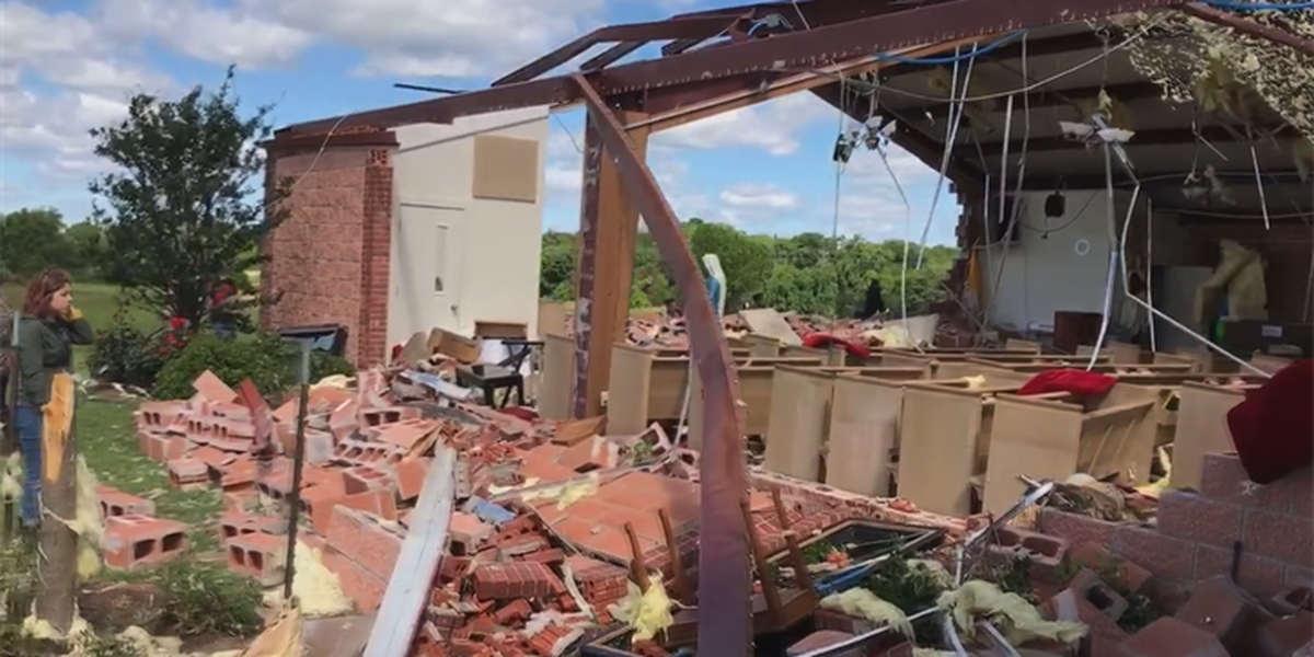 Power of Prayer: Emory church rebuilds after tornado