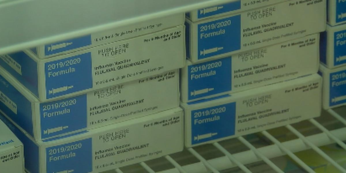 Current flu statistics for East Texas
