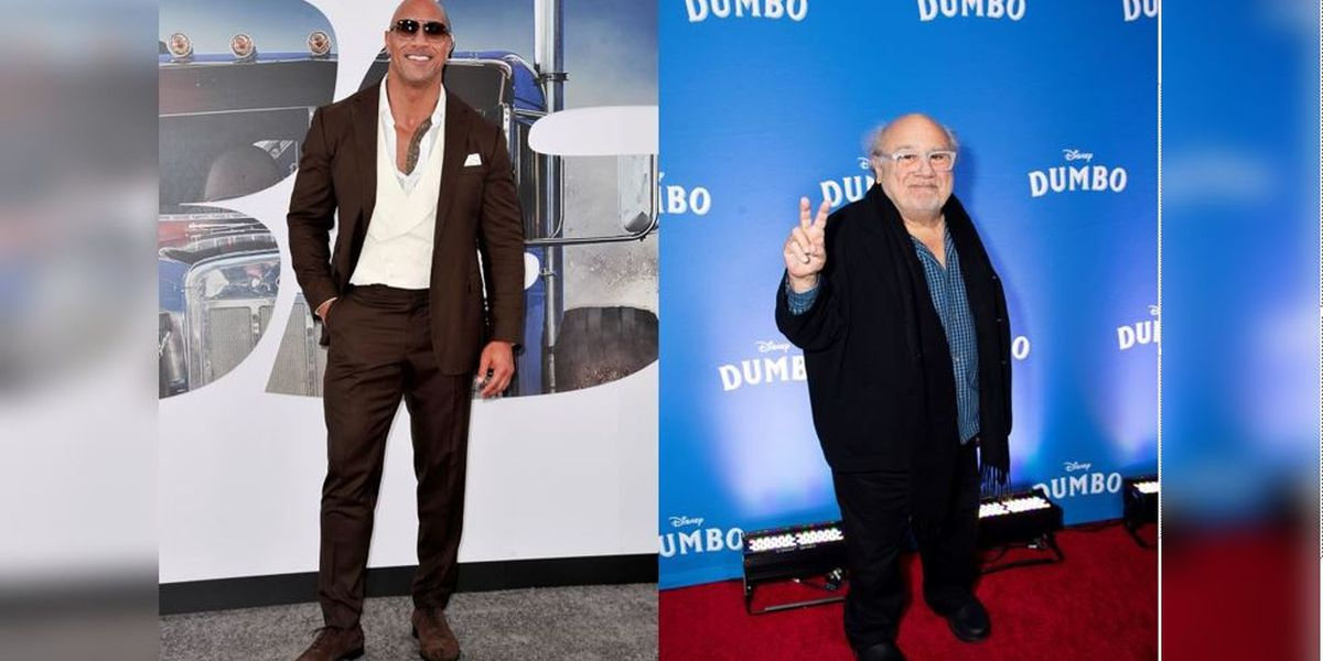 Dwayne 'The Rock' Johnson and Danny DeVito crash wedding, sing to bride and groom