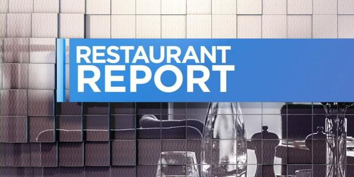 Restaurant Reports: 5 eateries get top scores