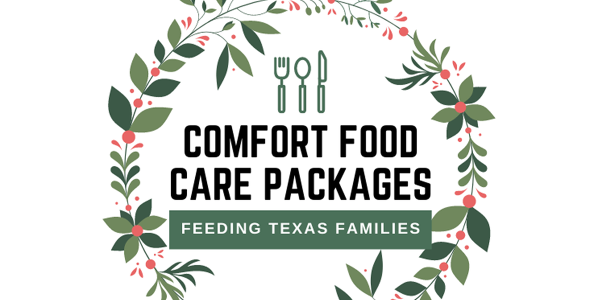 Gov. Abbott announces holiday comfort food care packages for Texas youth, families