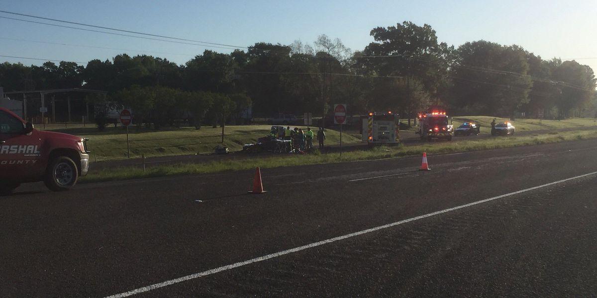 Driver flown to Tyler hospital after wreck involving 18-wheeler