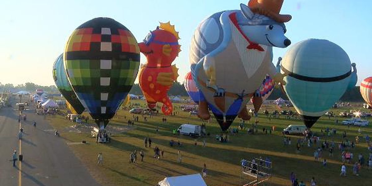 Saturday Balloon flight cancelled, pilots set up for fans