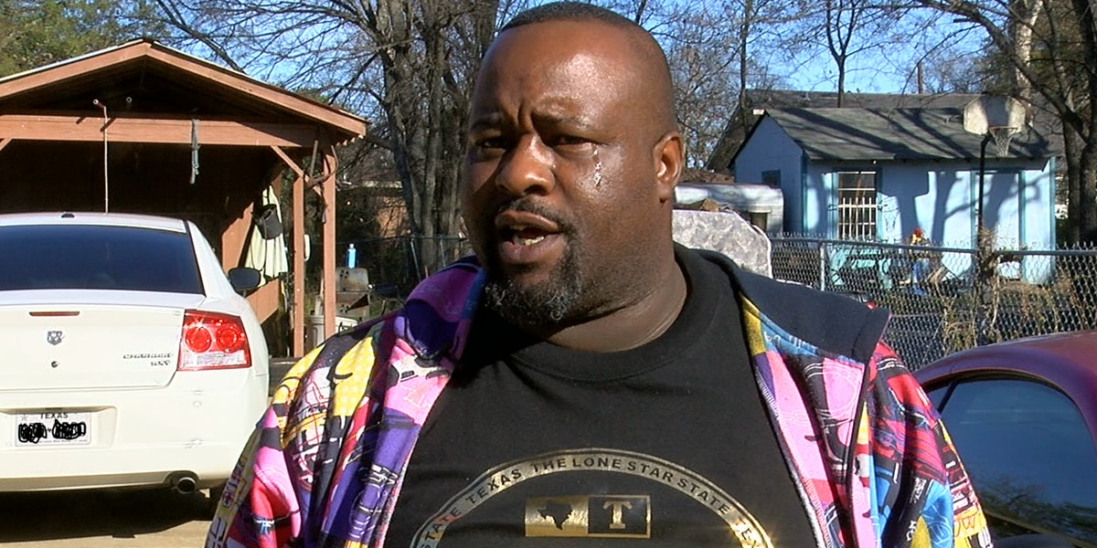 Son gets emotional speaking about father who was shot, killed
