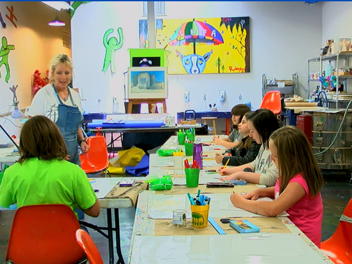 Longview Museum of Fine Arts offers kids creative, artistic outlet during summer months