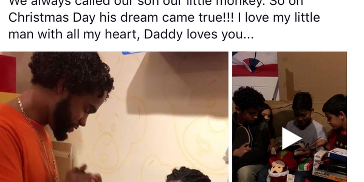 Father gifts son with chance to hear mother's voice again