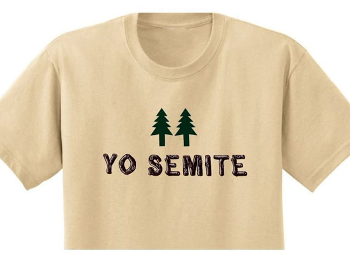 'Yo Semite' T-shirt is hit after Trump blunder