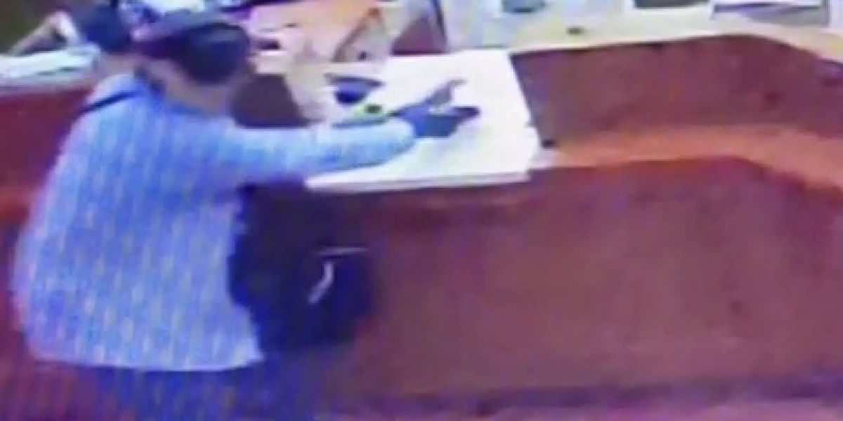 Suspect sought in East Texas bank robbery