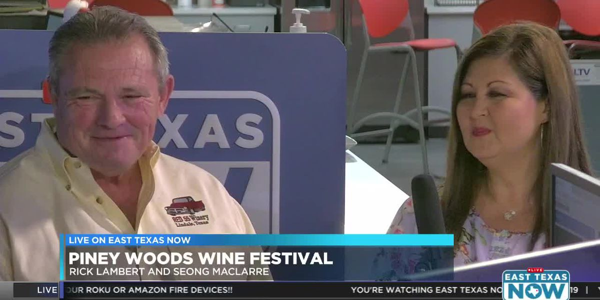 VIDEO: Piney Woods Wine Festival features 20 local wineries
