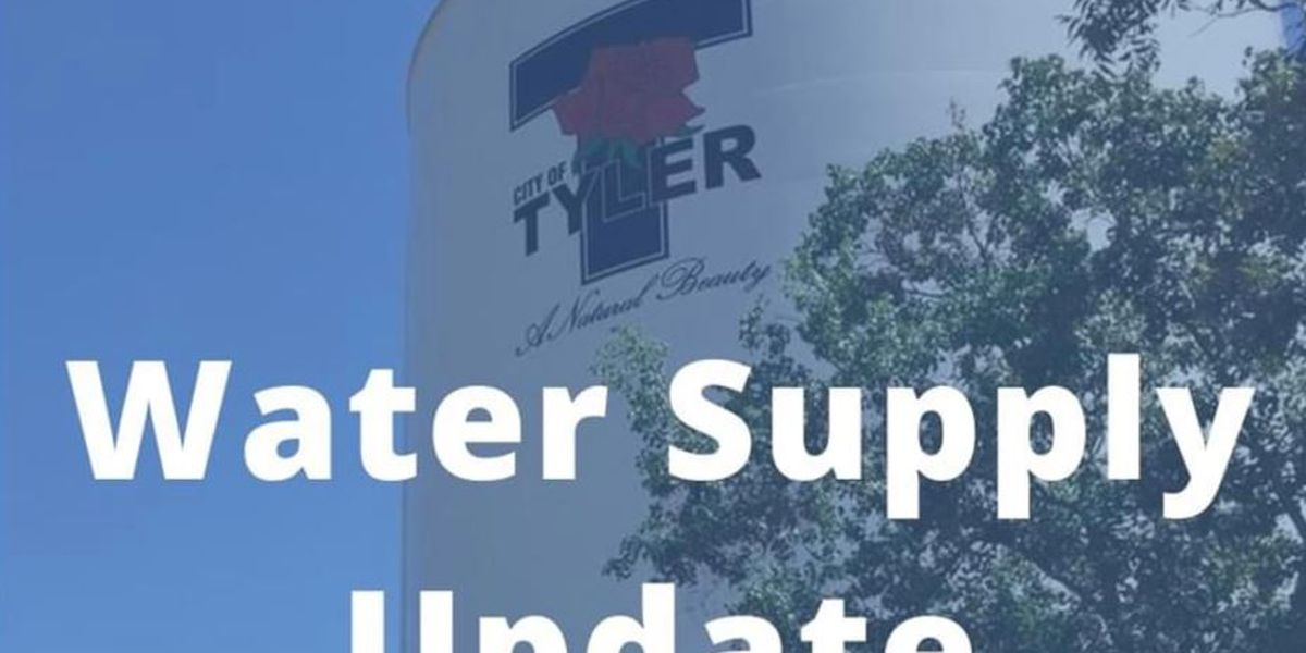 City of Tyler officials hopeful that boil-water notice will be lifted by Tuesday