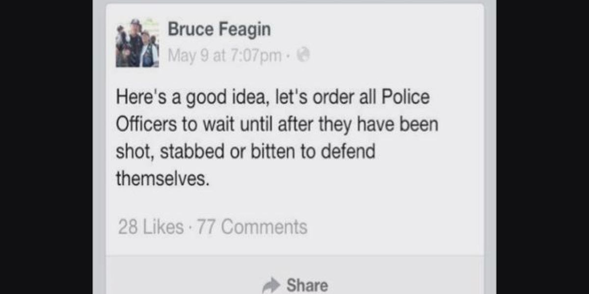 Police chief's Facebook posts causing stir in E. Texas community