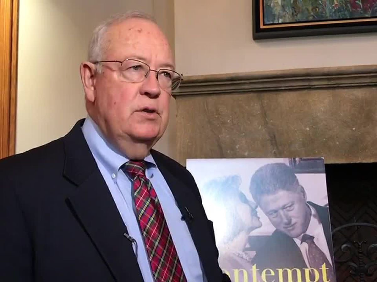 Web Xtra: Ken Starr discusses Mueller investigation at Tyler Rotary Club meeting
