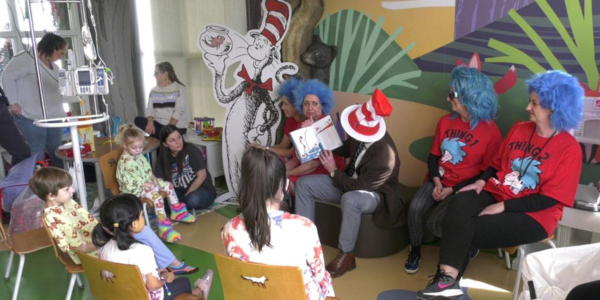 Longview library to hold birthday party for Dr. Seuss