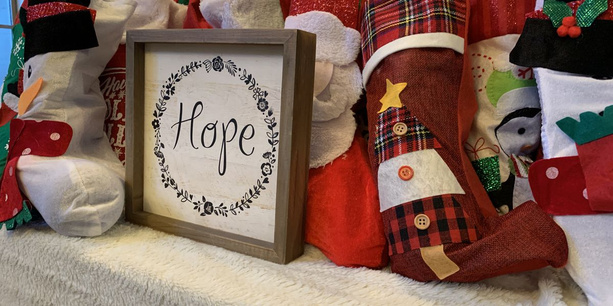 Three East Texas moms put stockings together for 40 NICU moms
