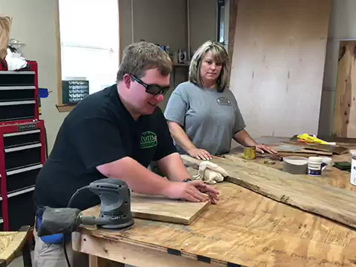 Alba man carves out new purpose in life after ATV accident left him blind