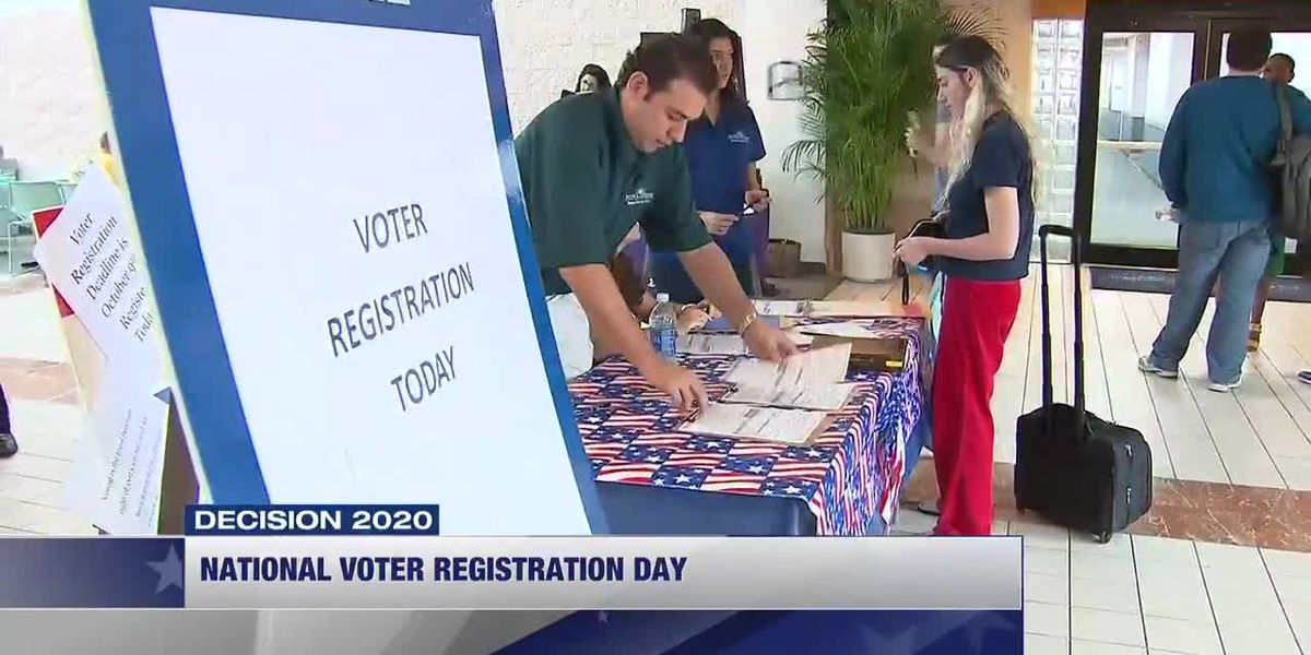 How you can register to vote on National Voter Registration Day