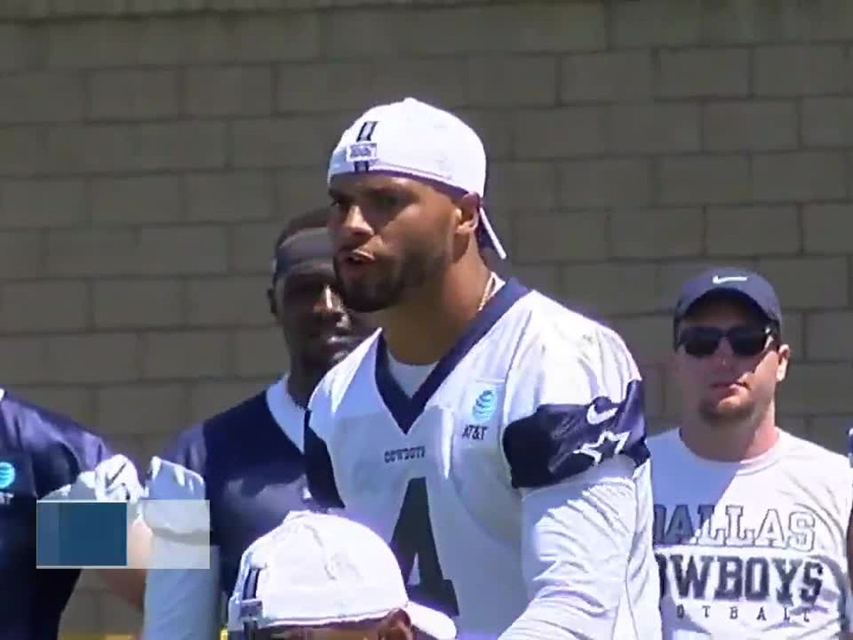 Dak Prescott offers support for protestors and $1M for police training