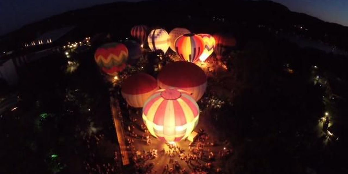 COME EARLY, STAY LATE: Large crowds gather for balloon glow at GTBR in Longview