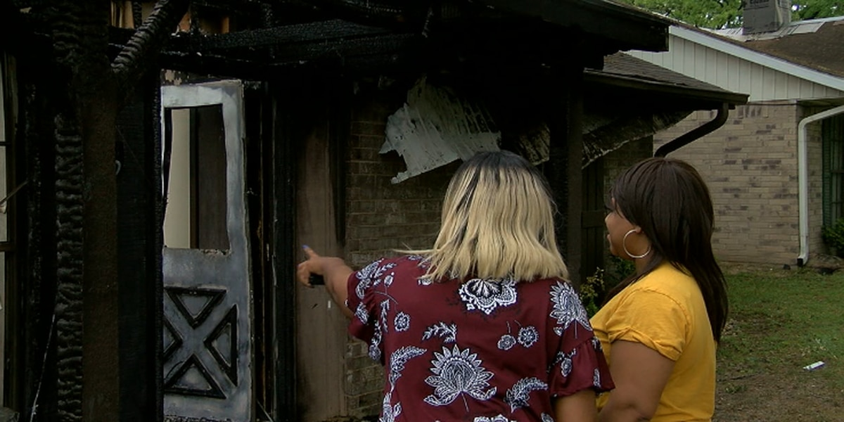 Two families without a home after fire in West Tyler