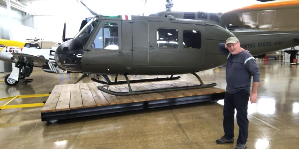 WATCH: Museum at Mount Pleasant features helicopter shot down 3 times in Vietnam