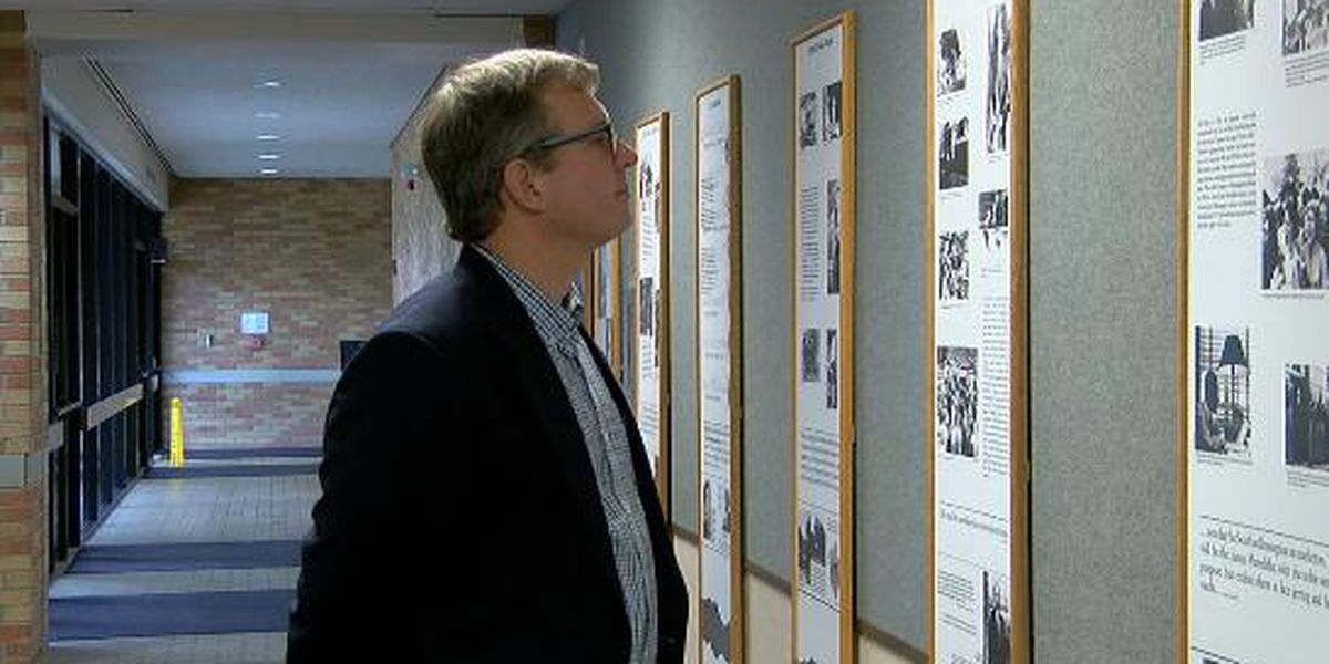 MLK Exhibit on display through February at LeTourneau University