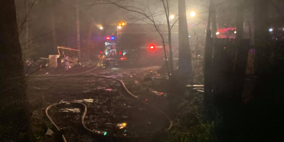 Residents, dogs reported OK after fire in Panola County
