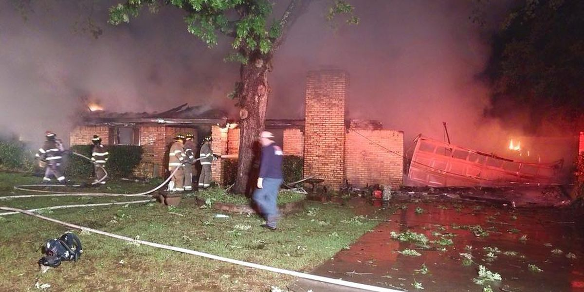 Weekend house fire in Gregg County leaves family homeless