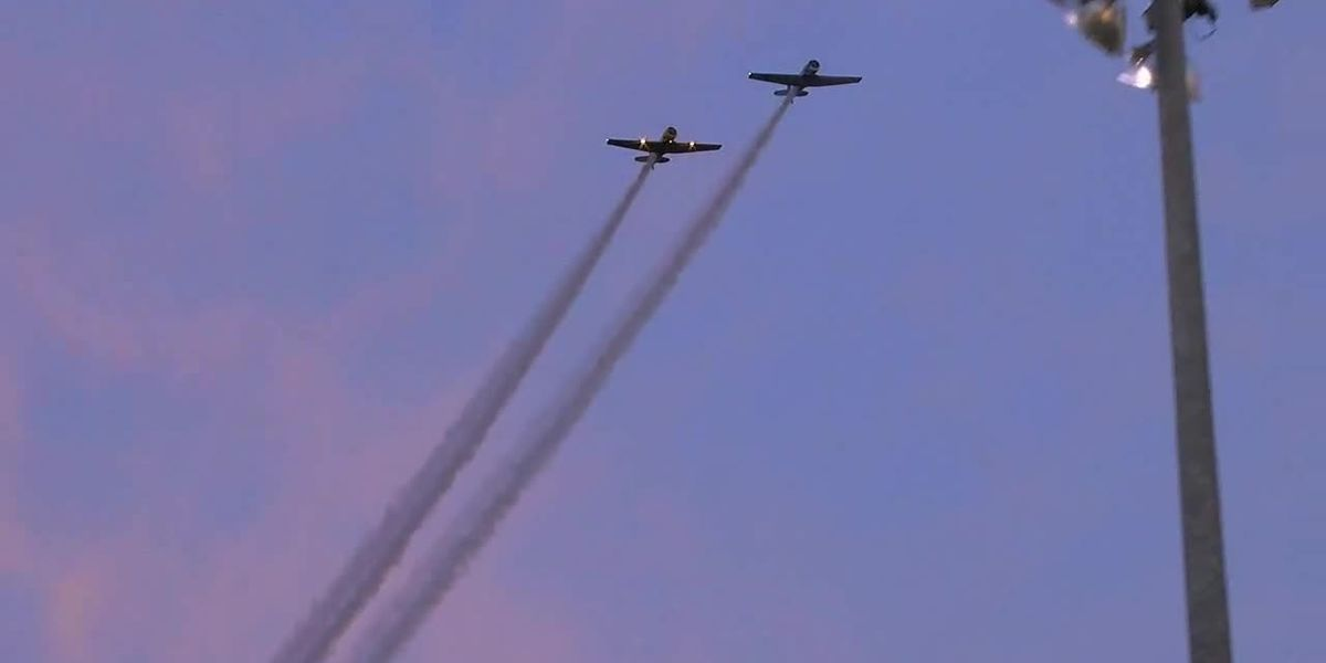 ICYMI: Vintage planes fly over Gilmer during T6 Texan Air Show